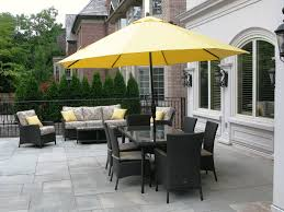 Garden Table With Umbrella Enjoyment Patio Table With Umbrella Hole Boundless Table Ideas