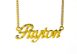 name plated necklace 18k gold plated necklace with name payton name plate best friend