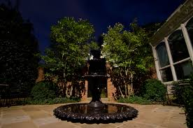 Landscape Lighting Replacement Parts - focus landscape lighting parts focal lighting on fountain in