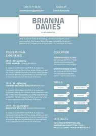 modern cv resume design sles resume design discreet resume mycvfactory