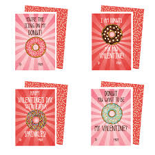 valentines cards printable donuts valentines cards kateogroup
