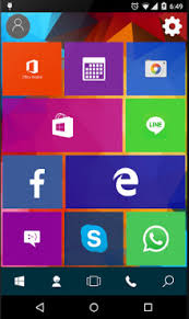 win apk win 10 launcher apk for android