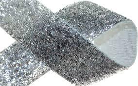 silver glitter ribbon 1 silver glitter ribbon superb supplies