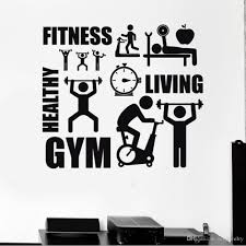 sticker gym online wall sticker gym for sale