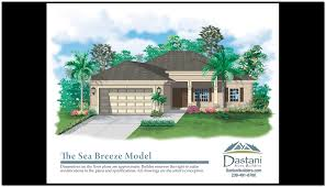 Florida Homes Floor Plans by Models And Floor Plans Dastani Homes And Team Realty Custom New