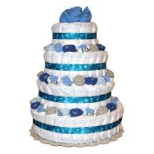 diper cake decorated blue camouflage baby boy cake