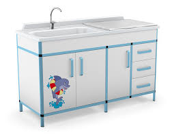 Changing Table With Sink Changing Table Rectangular With Sink Agatka Series Techmed