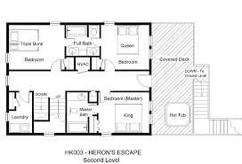Floor Plans For A Restaurant by Oceanside Vacation Rental Heron U0027s Escape