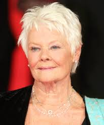 judi dench hairstyle front and back of head judi dench 81 better than botox 20 hairstyles that will knock off