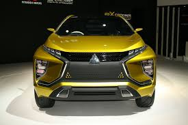 mitsubishi yellow mitsubishi spells out its suv future by car magazine