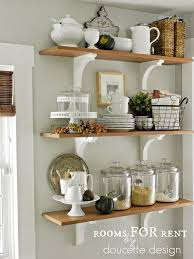 kitchen shelves decorating ideas fascinating dining room shelves decorating ideas pictures best