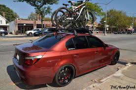 bmw 1 series roof bars blacked out roof rack and bike carrier bmw m5 forum and m6 forums