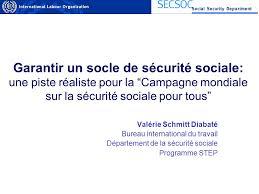 bureau securité sociale garantir un socle de sécurité sociale une piste réaliste pour la