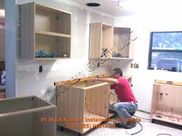cabinet installing cabinets in kitchen how to install kitchen