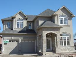 home design building blocks burlington new home stucco and stone application building