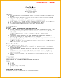 exles of cna resumes sle cna resume template free of nursing assistant with no