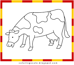coloring pages printable for kids cow coloring pages for kids