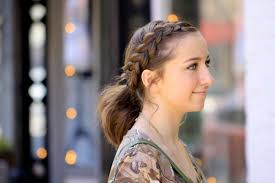 cute girl hairstyles diy dutch accent ponytail short hairstyles cute girls hairstyles
