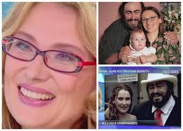 nicoletta mantovani sclerosi multipla la moglie di pavarotti in tv l ultima immagine il sorriso a