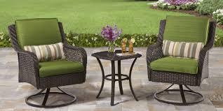 Better Homes And Gardens Azalea Ridge 4 Piece Patio Better Homes And Gardens Amelia Cove Resin Wicker Bistro Set