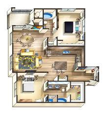 Stunning Tiny Apartment Floor Plans Images Decorating Interior - Studio apartment layout design