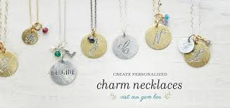 Personalized Charm Necklaces Welcome To Lunessa Local Handcrafted Artisan Fine Jewelry Soho Nyc