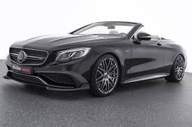 brabus brabus 888 hp rocket 900 cabrio is a convertible with supercar