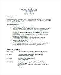 Community Health Nurse Resume Sample Resume General Objective Nursing Resume Objective Sample
