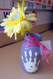 jar vases mothers day ideas for kids jar vase