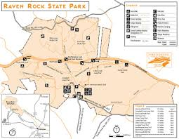 Ca State Parks Map by Raven Rock State Park Maplets