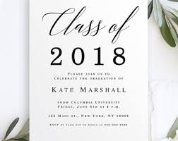college graduation invitations college graduation invitations etsy