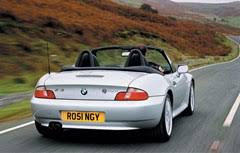 bmw z3 reliability bmw z3 roadster 1996 2002 driving performance parkers