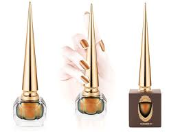 christian louboutin debuts scarabée collection of nail colors