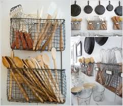 kitchen basket ideas space saving utensils storage ideas trends4us