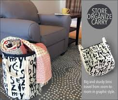 D Decor Home Fabrics Tall Bold Storage Bins Home Decor At Fabric Depot Sew4home
