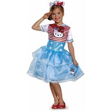 halloween sailor costume hello kitty sailor deluxe tutu child dress up role play costume