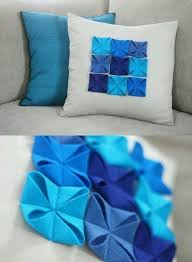 diy cushion covers best out of waste