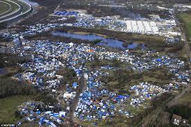 demolition jungle begins calais migrants