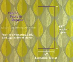 How To Calculate Yardage For Upholstery Fabric Pattern Repeats Naturalupholstery Com