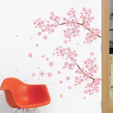 aliexpress com buy pink flower branch tree cherry blossoms home
