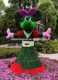 Mickey Mouse Topiary Lsd 1228573 Artificial Animal Mickey Mouse Topiary Boxwood Topiary