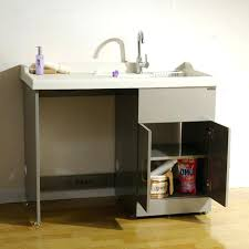 how to install a laundry sink undermount utility sink install laundry vintage concrete utility