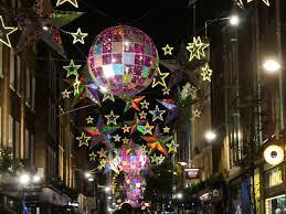 Marvellous Light Show For Christmas In London 2015 Youtube