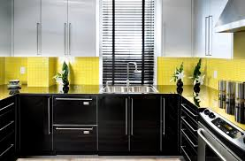 Kitchen Wall Stone Tiles - yellow wall mount kitchen cabinet overhang quartz kitchen island