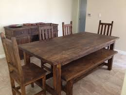 Rustic Dining Room Tables For Sale Rustic Dining Room Table With Bench Fresh With Photos Of Rustic