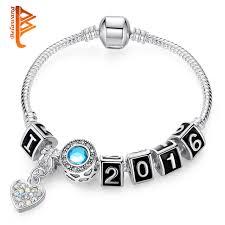 diy crystal bead bracelet images Belawang new brand cute bracelets silver color diy crystal beads jpg