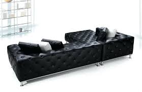modern tufted leather sofa black tufted sofa black modern tufted leather sectional sofa hancock