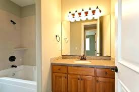 bathroom vanity light with power outlet fixtures electrical