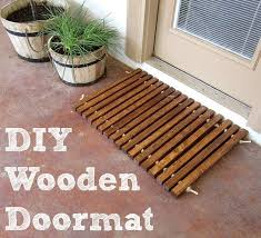 Fun Wood Projects For Beginners by Best 25 Diy Door Mats Ideas On Pinterest Welcome Door Mats