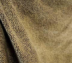 Leo Upholstery Siamese Nugget Reversible Chenille Animal Print Upholstery Fabric